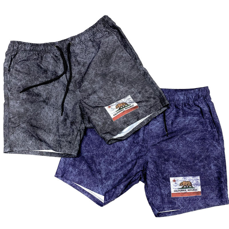 4月下旬発売 CALIFORNIA  FLAG  DIRTY  SHORTS