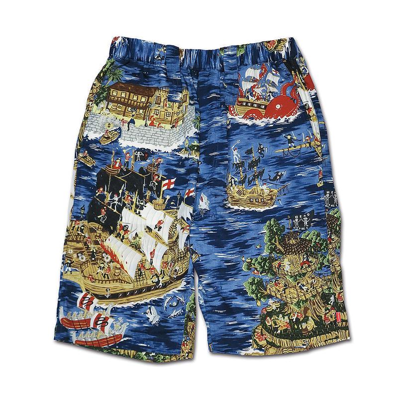 PIRATES ISLAND ALOHA SHORT PANTS