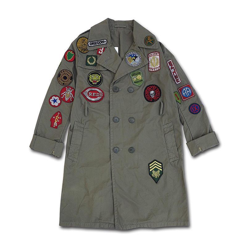 1985 ADVENTURE ARMY COAT...