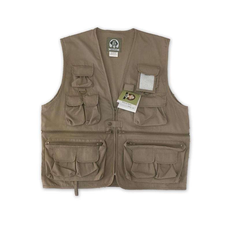 """""""UNCLE MILTY"""" Travel Vest(KHAKI)"""