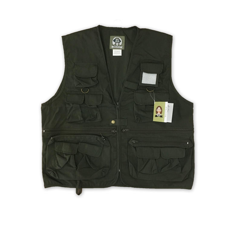 """""""UNCLE MILTY"""" Travel Vest(OLIVE)"""