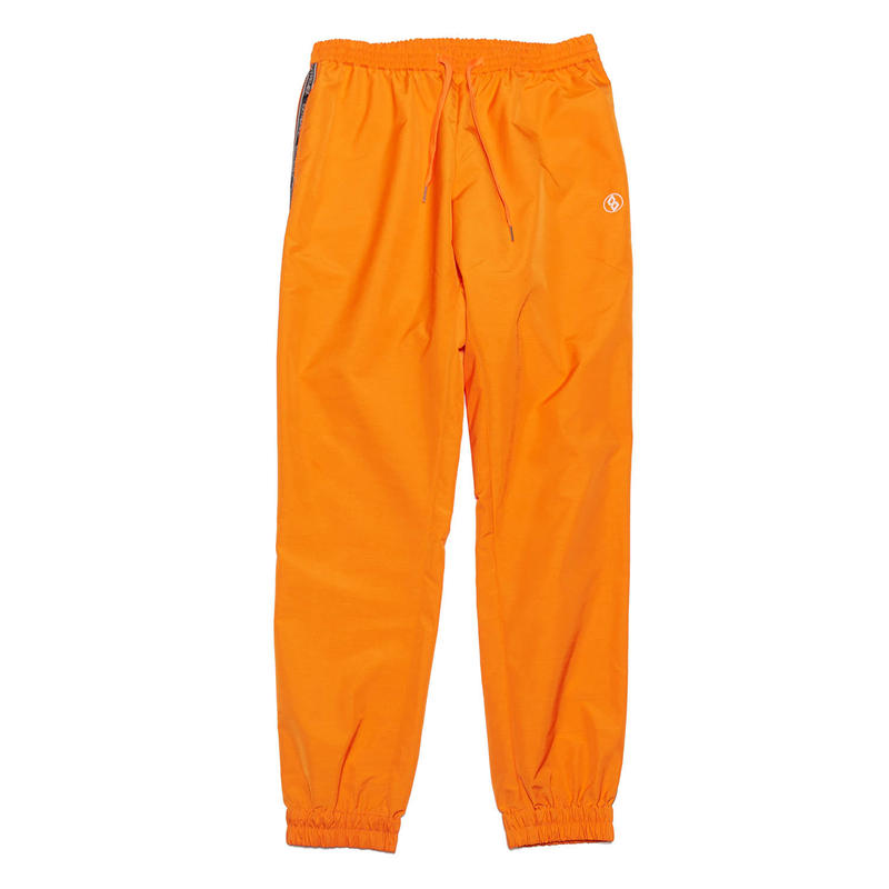 EXZ-LOGOTYPE LINE TAPE TRACK SUIT PANTS/ORANGE/EZP0190009