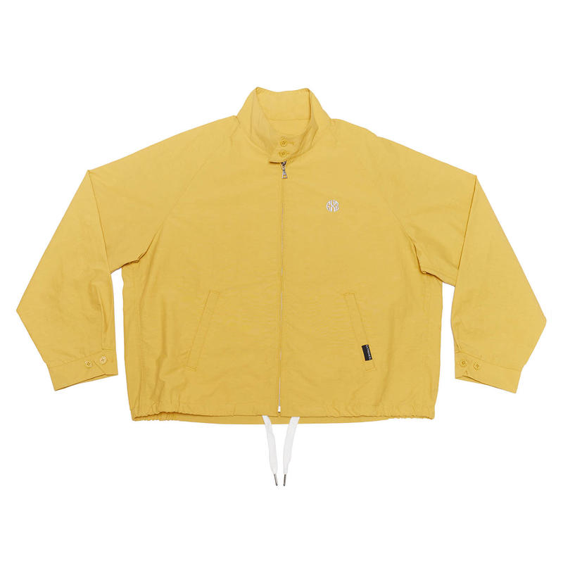 NYLON DRIZZLER JACKET/YELLOW/EZB0190005