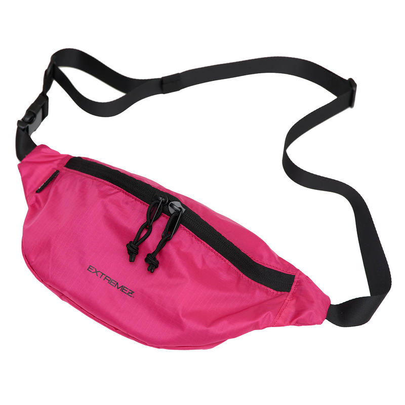 PACKABLE LIP-STOP BUM BAG/PINK/EZZ0190003