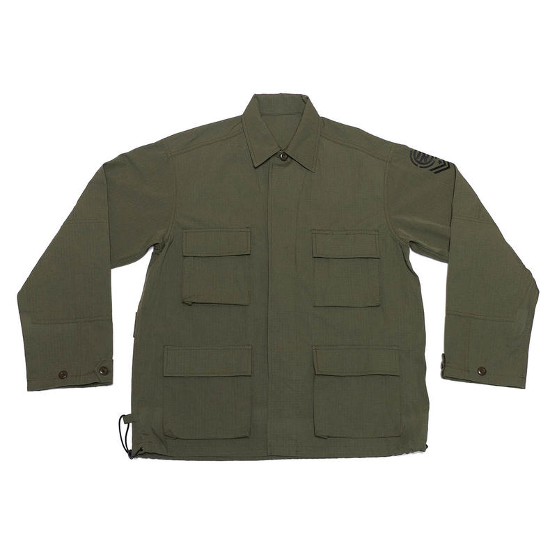 DRAW COAD MILITARY JACKET/KHAKI/EZJ0190002