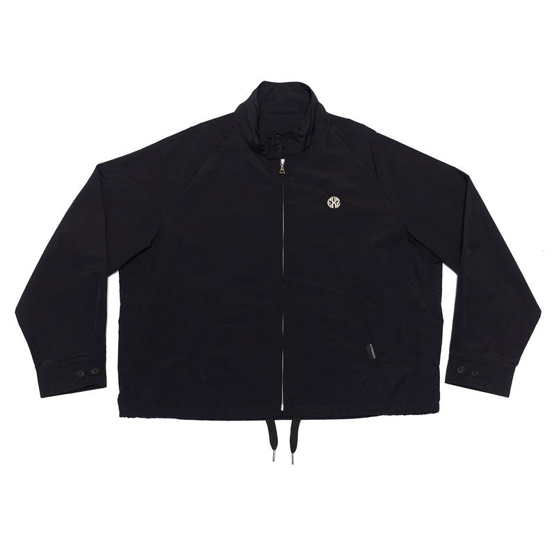 NYLON DRIZZLER JACKET/BLACK/EZB0190005