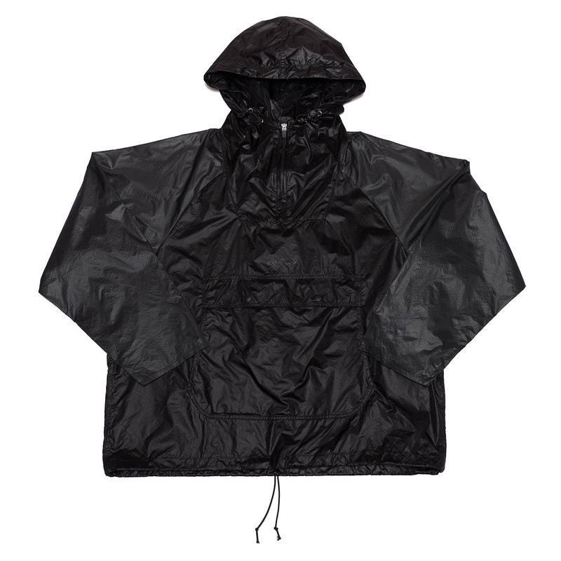 PACKABLE BI COLOR ANORAK JACKET/BLACK/EZB0190004