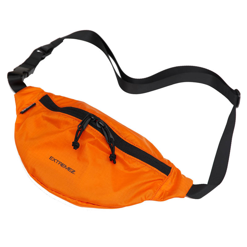 PACKABLE LIP-STOP BUM BAG/ORANGE/EZZ0190003