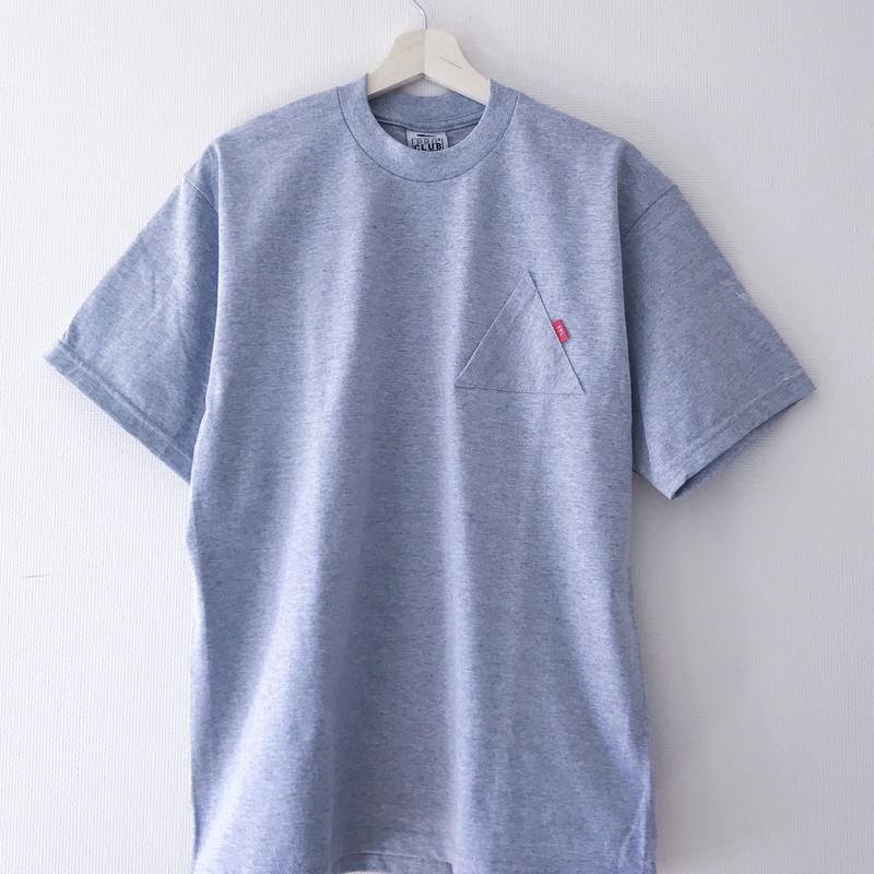 "EYL ""Triangle Pokcet S/S TEE"" Heather Gray"