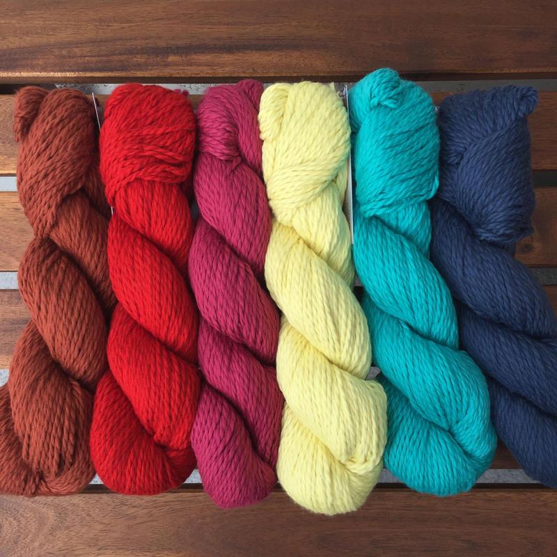 BLUESKYFIBERS ORGANIC COTTON worsted (カラー)