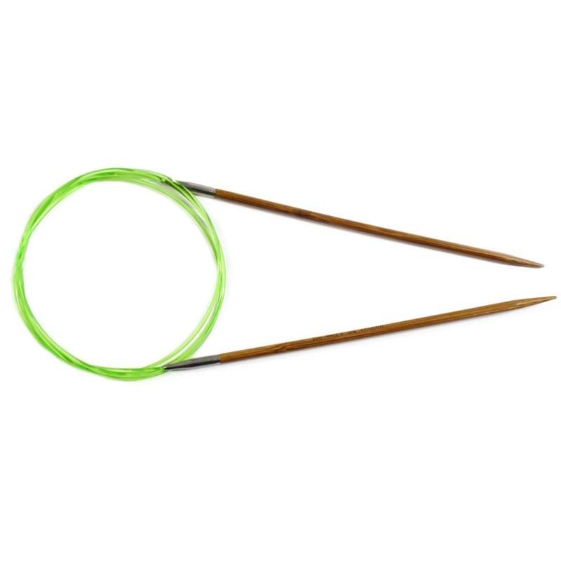 HiyaHiya コード付き輪針 80cm 竹 small
