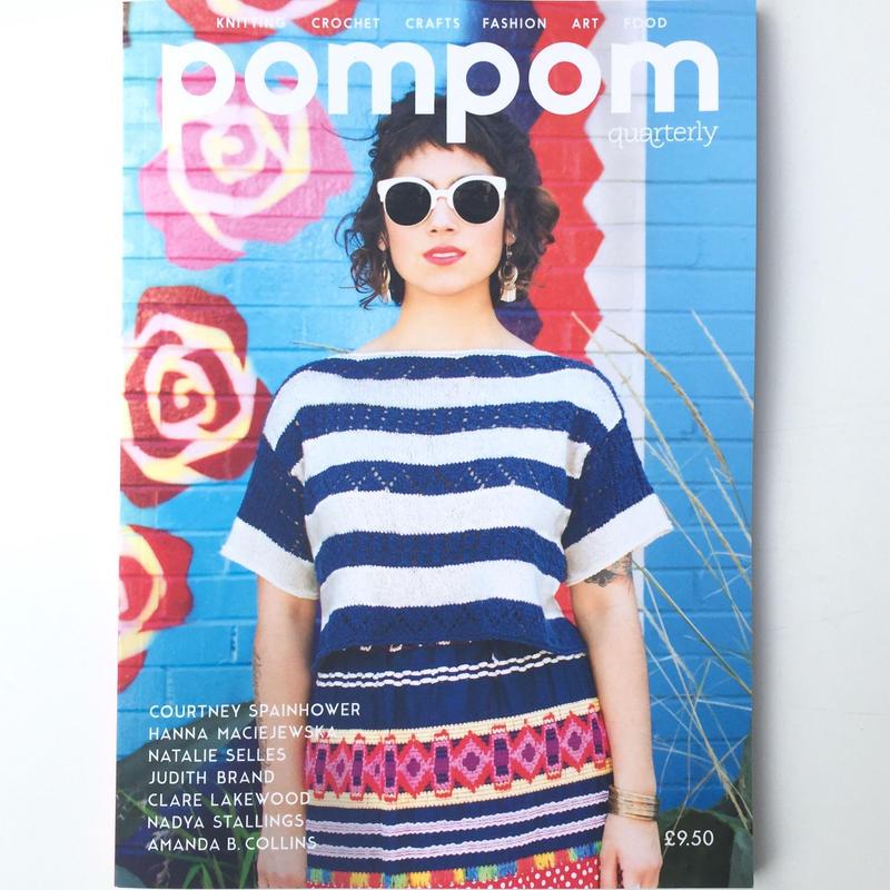 Pom Pom      issue 13   summer 2015