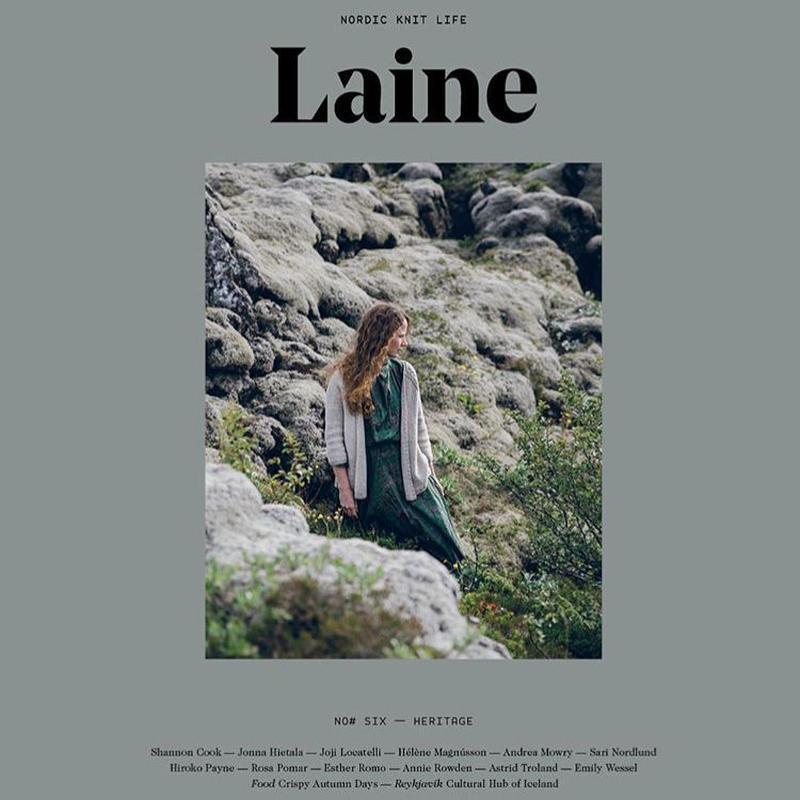 Laine issue 6  Heritage     再入荷!
