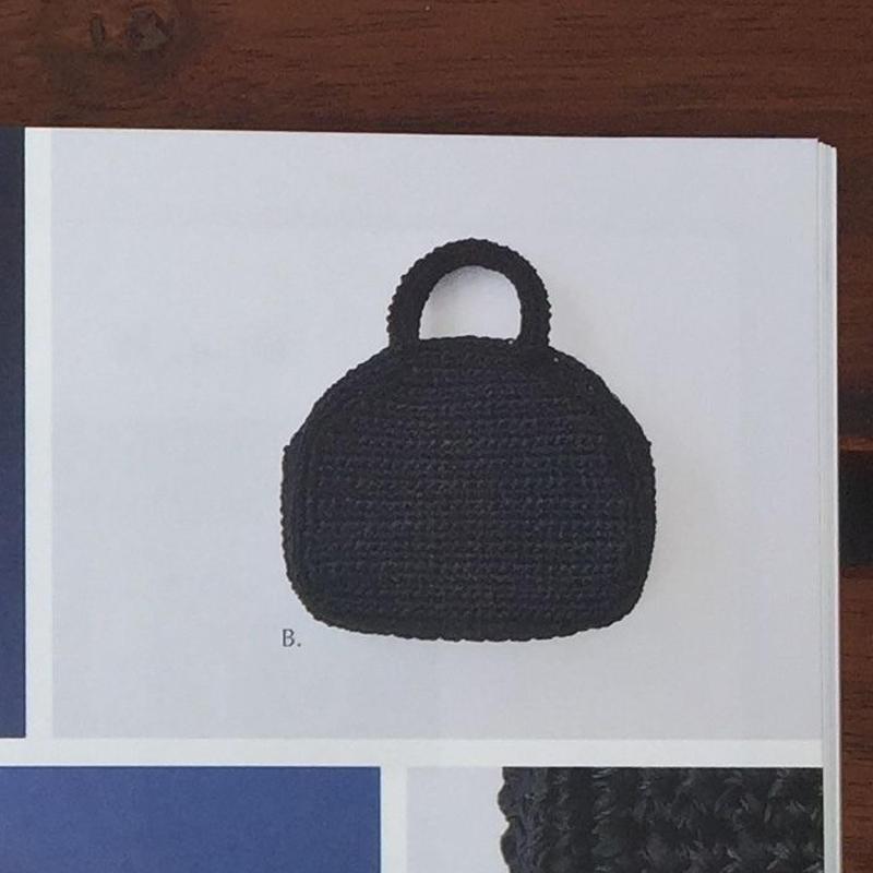 異素材を引き揃えたハンドバッグ  キット