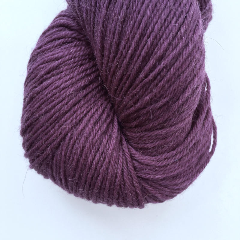 The Fibre Co   Cumbria fingering Purple Moor Gra