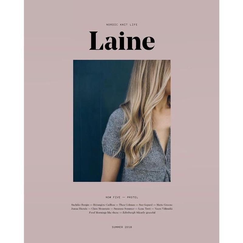 Laine   magazine 5  再入荷しました 代引きできません