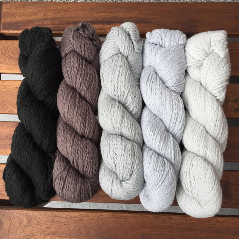 BLUESKYFIBERS ORGANIC COTTON worsted (モノトーン)