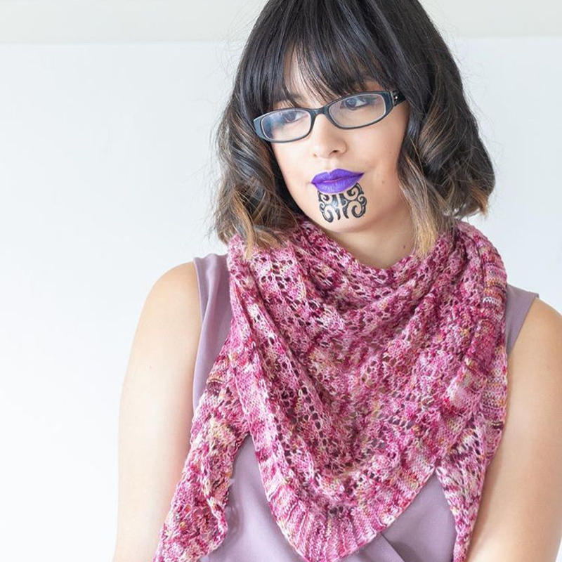 Chappy yarn whakahoahoa-shawl  指定糸セット