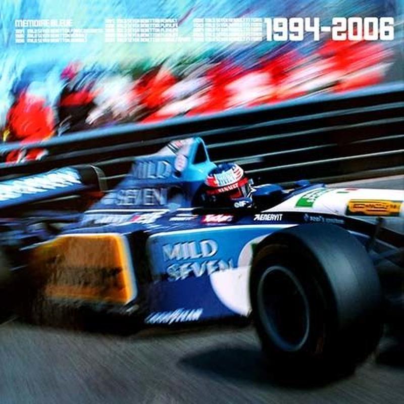 MEMOIRE BLEUE Champions du Monde de Formule1