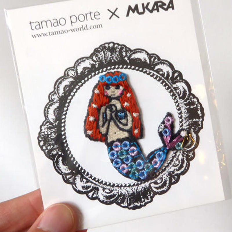tamao porte x MUKARAワッペン