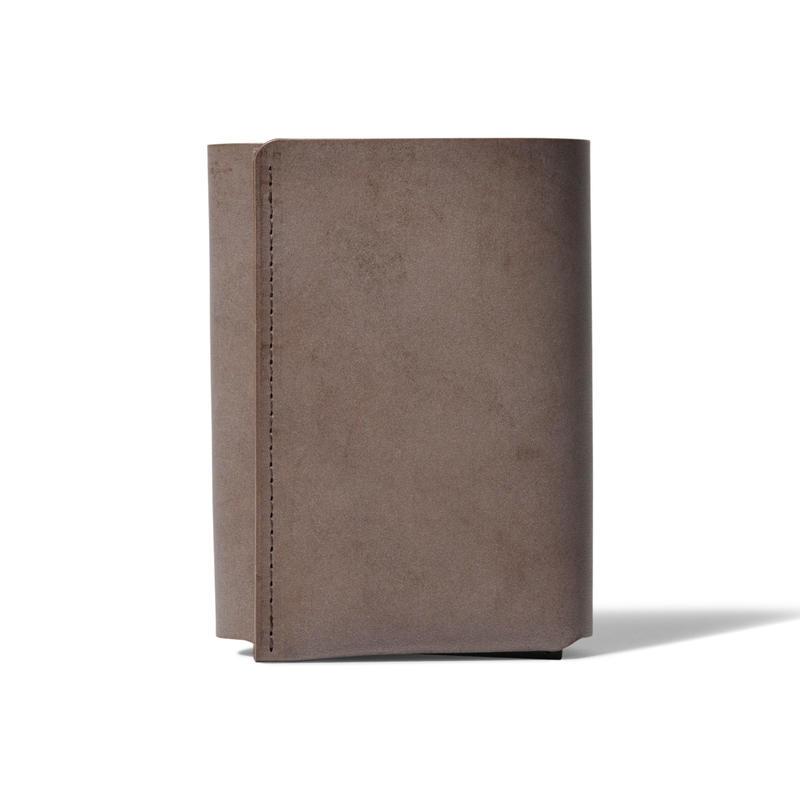 しっかり入ってコンパクトな財布 TRI-FOLD WALLET / CHOCOLATE