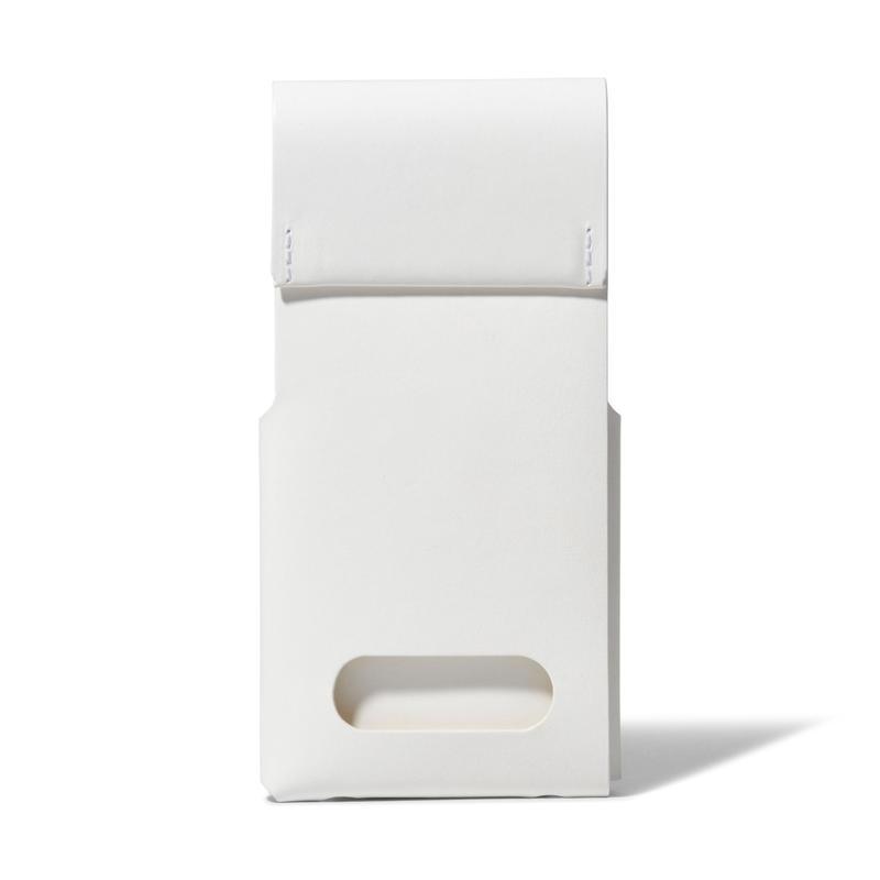 スタンドにもなるiPhoneスリーブ iPhone SLEEVE & STAND / WHITE