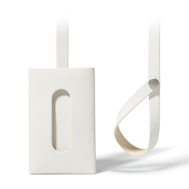 """ストラップ付きカードケース""""1""""  CARD CASE 1 / WHITE"""