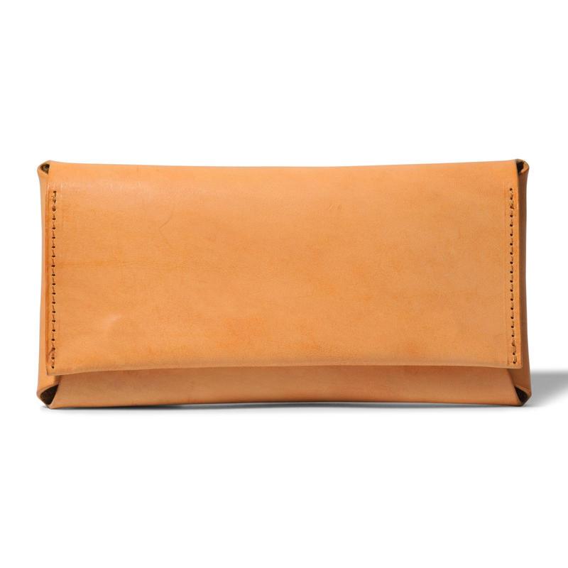 コンパクト設計の長財布    LONG WALLET / CAMEL