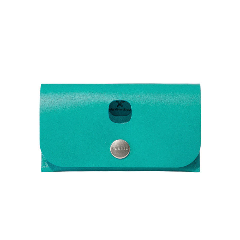 選べるスタイル  3WAY MINI WALLET / FABRIK TURQUOISE