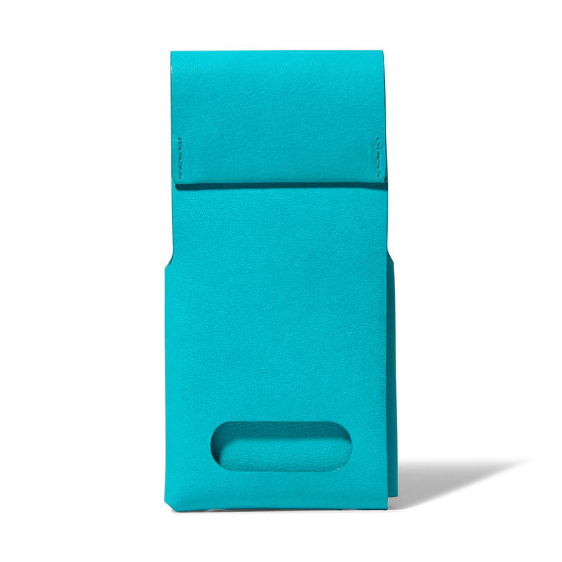 スタンドにもなるiPhoneスリーブ iPhone SLEEVE & STAND / FABRIK TURQUOISE