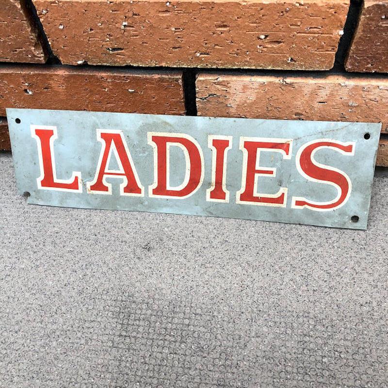 ビンテージ LADIES 案内板
