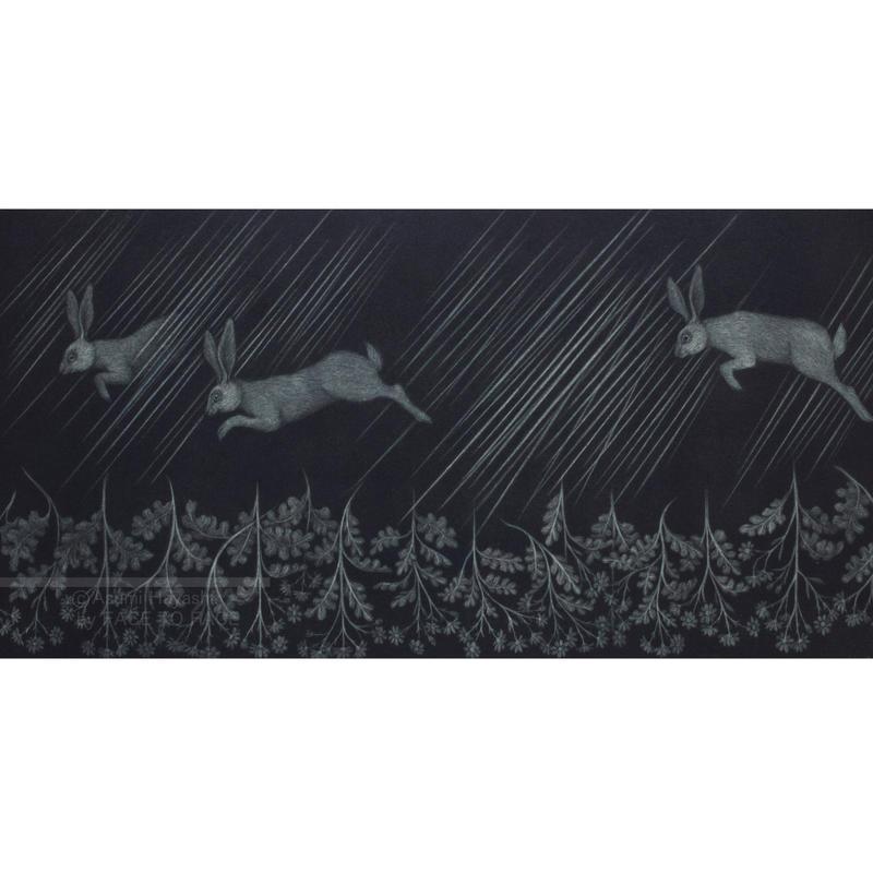 林 明日美作品 「よろこびの雨」