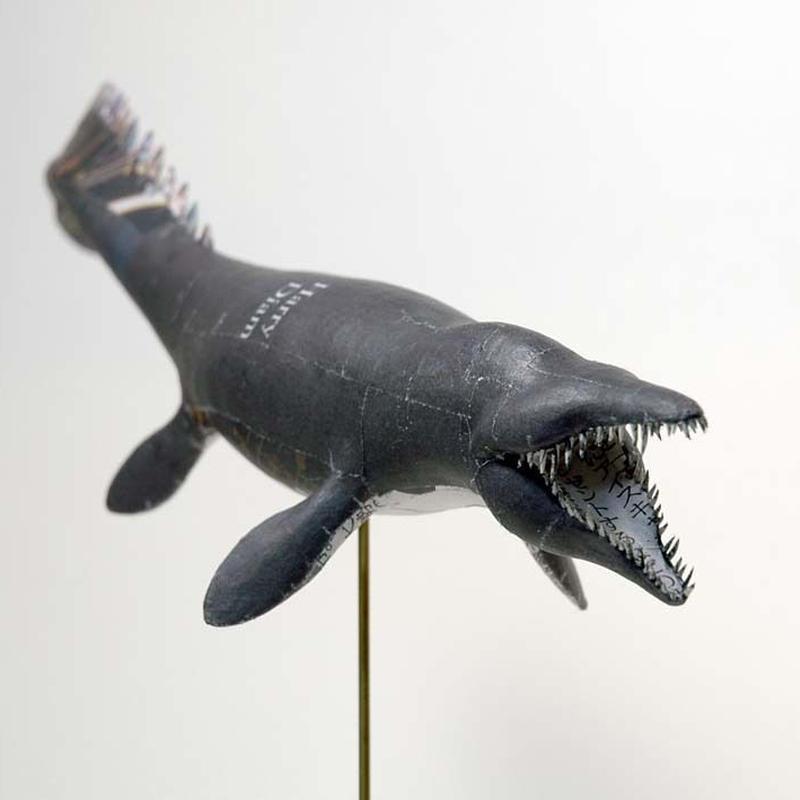 杉﨑良子作品 ティロサウルスTylosaurus