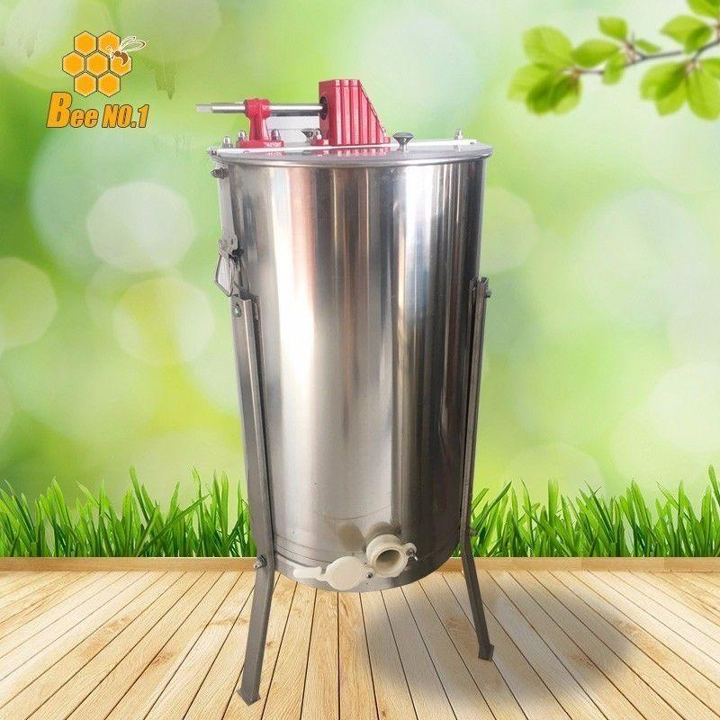 2枚式蜂蜜分離器 ステンレス 蜂蜂蜜抽出 ドラム養蜂農場 遠心分離器  (2フレーム)