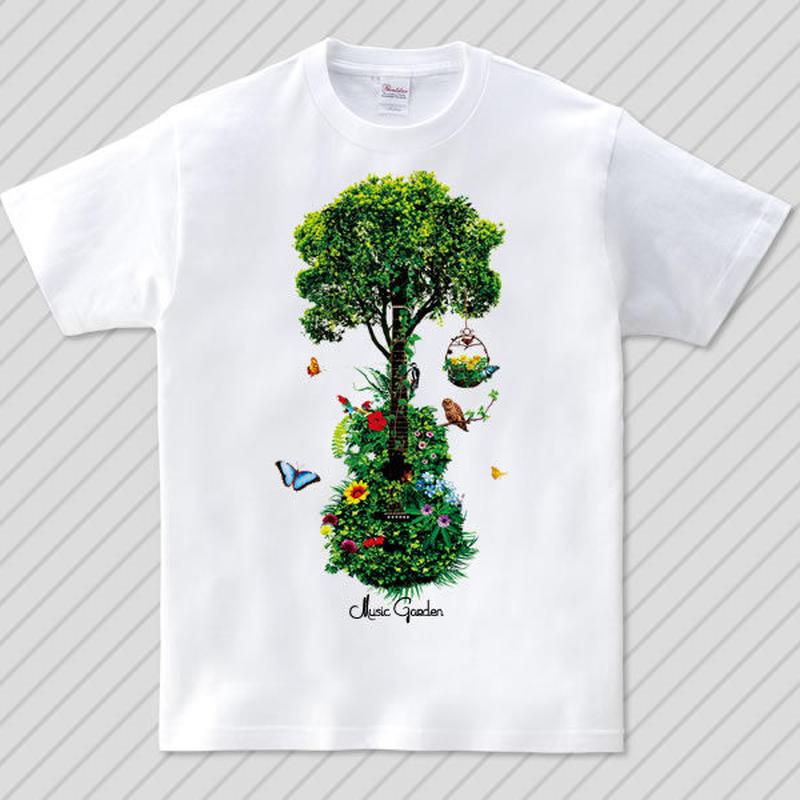 Music Garden / グラフィックアートTシャツ