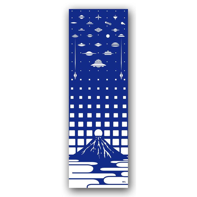 注染染め 手拭い UFOサミット in 富士山
