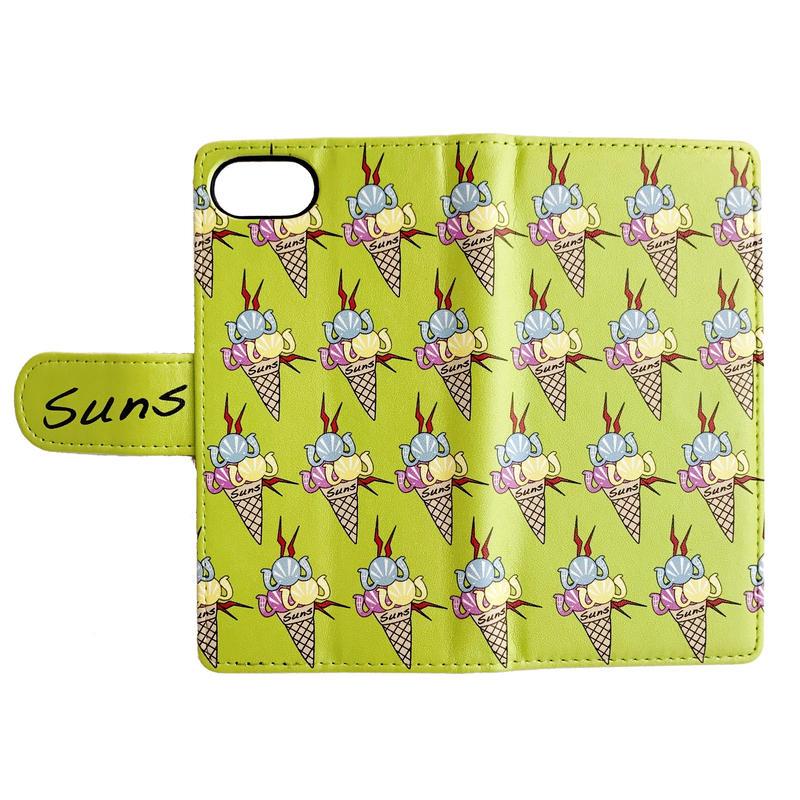 SUNS CREAM I-PHONE BOOK