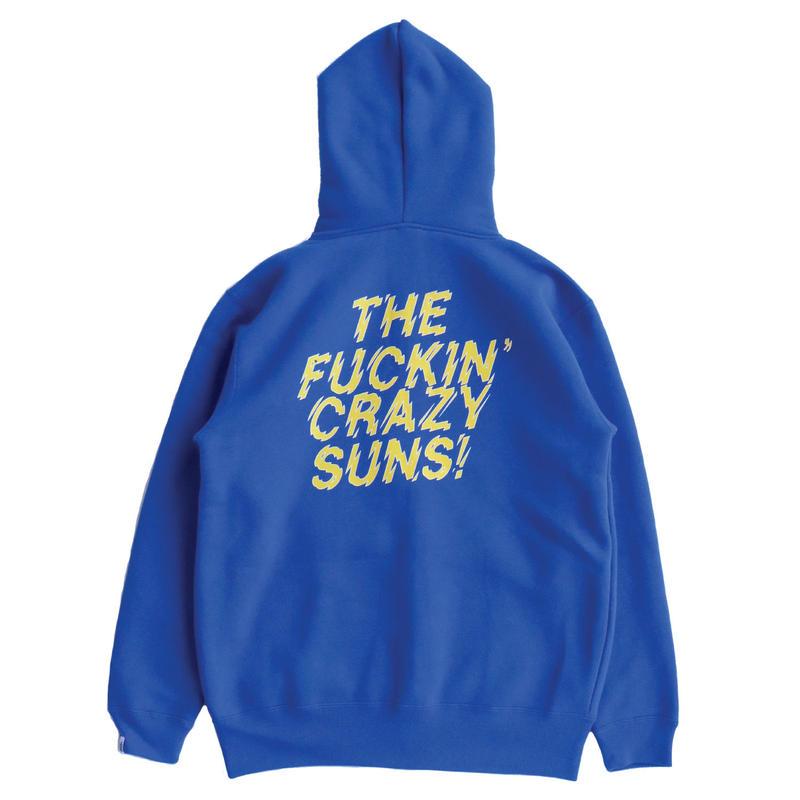 FUCKIN CRAZY SUNS ZIP HOOD