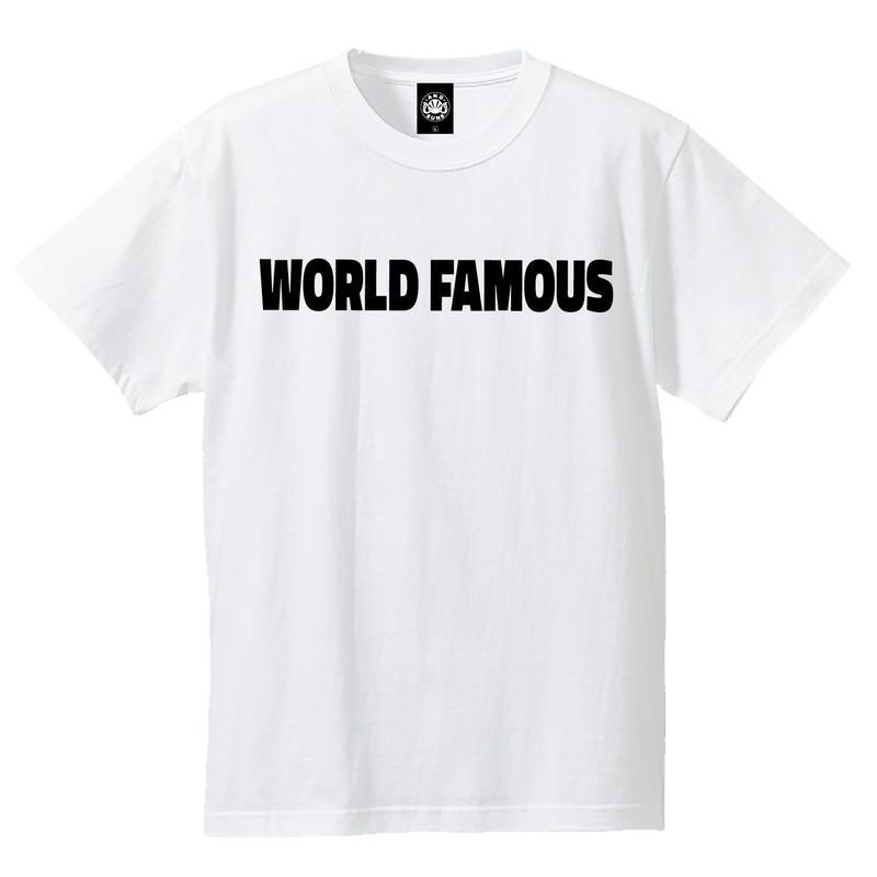 WORLD FAMOUS TEE