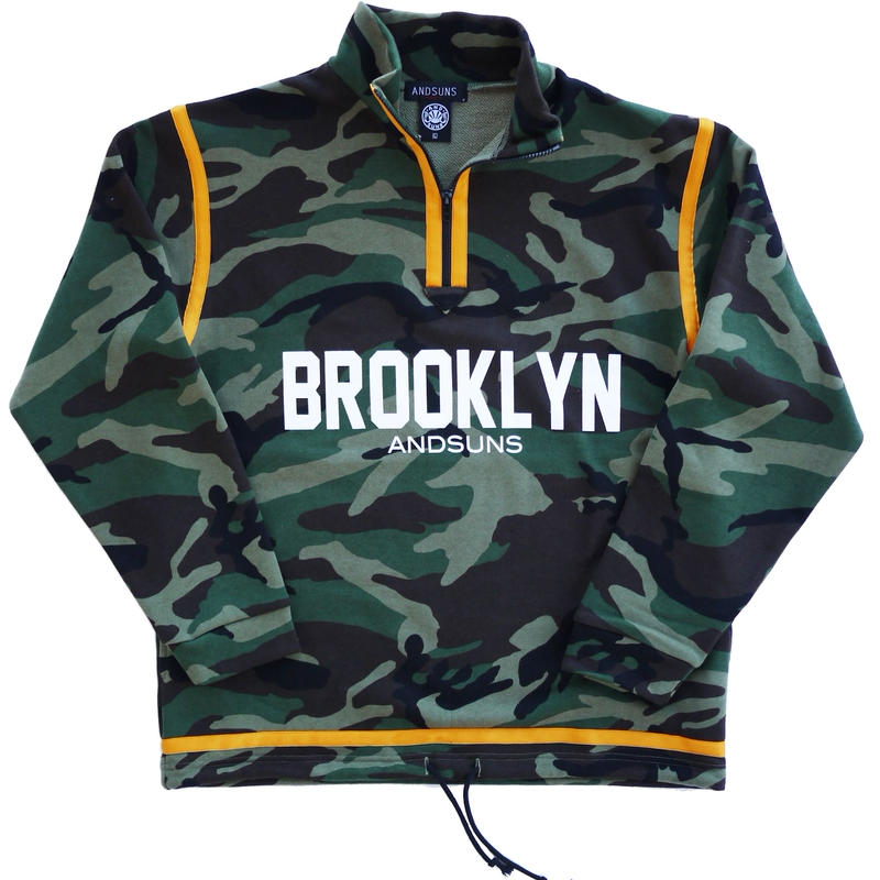 BROOKLYN HALF ZIP