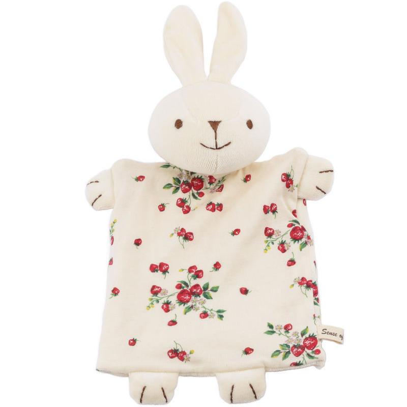 SENSE OF WONDER オーガニックコットン 日本製 うさぎパペット/ Rabbit Puppet