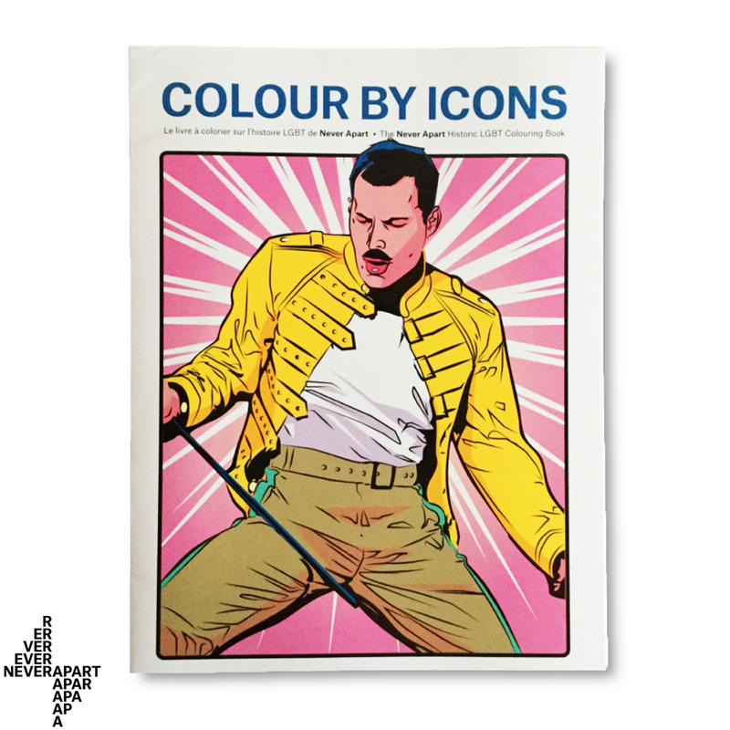 Colour By Icons – Coloring Book ぬり絵ブック