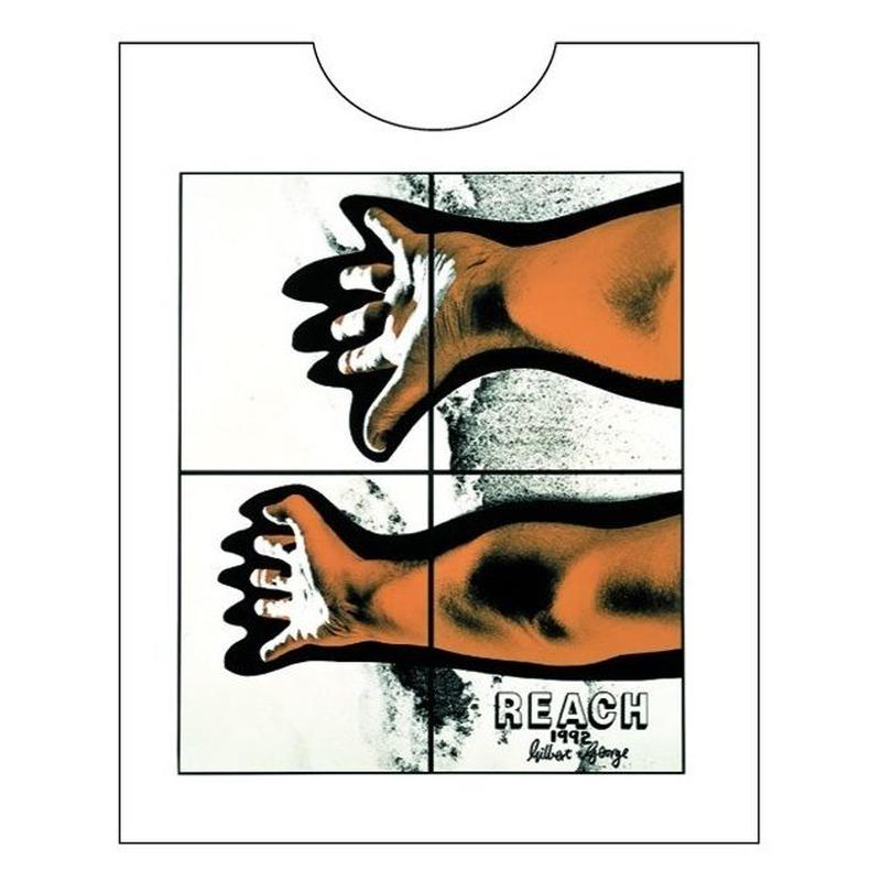 Gilbert and George  (REACH) Tシャツ/ ホワイト