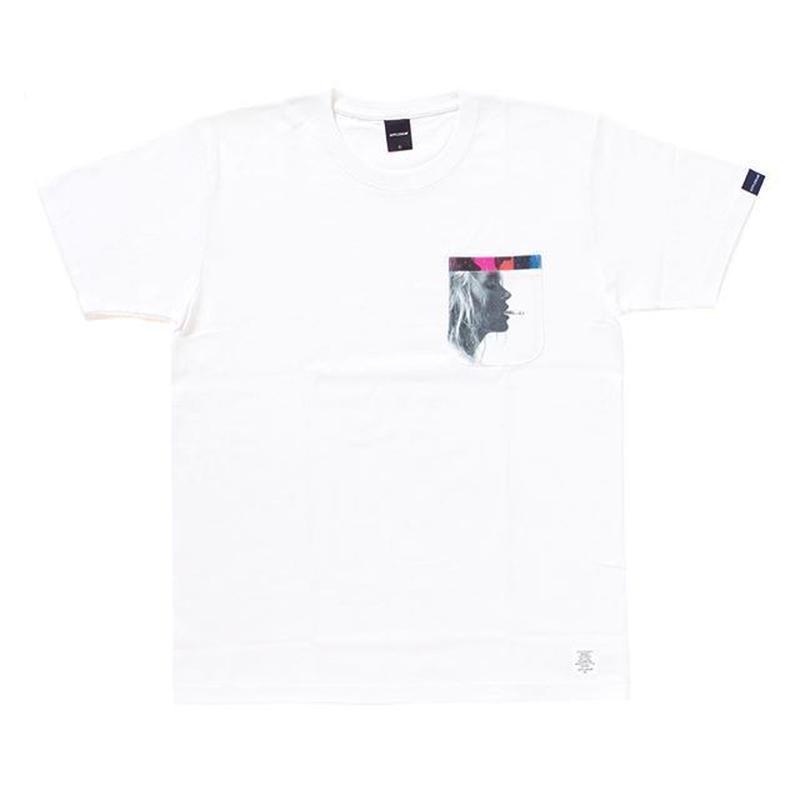 APPLEBUM Smokin Girl Pocket T-shirt