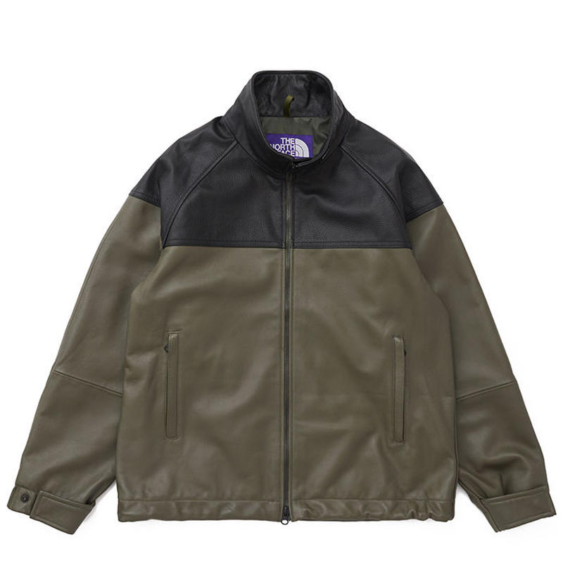 THE NORTH FACE PURPLE LABEL Field Leather Jacket