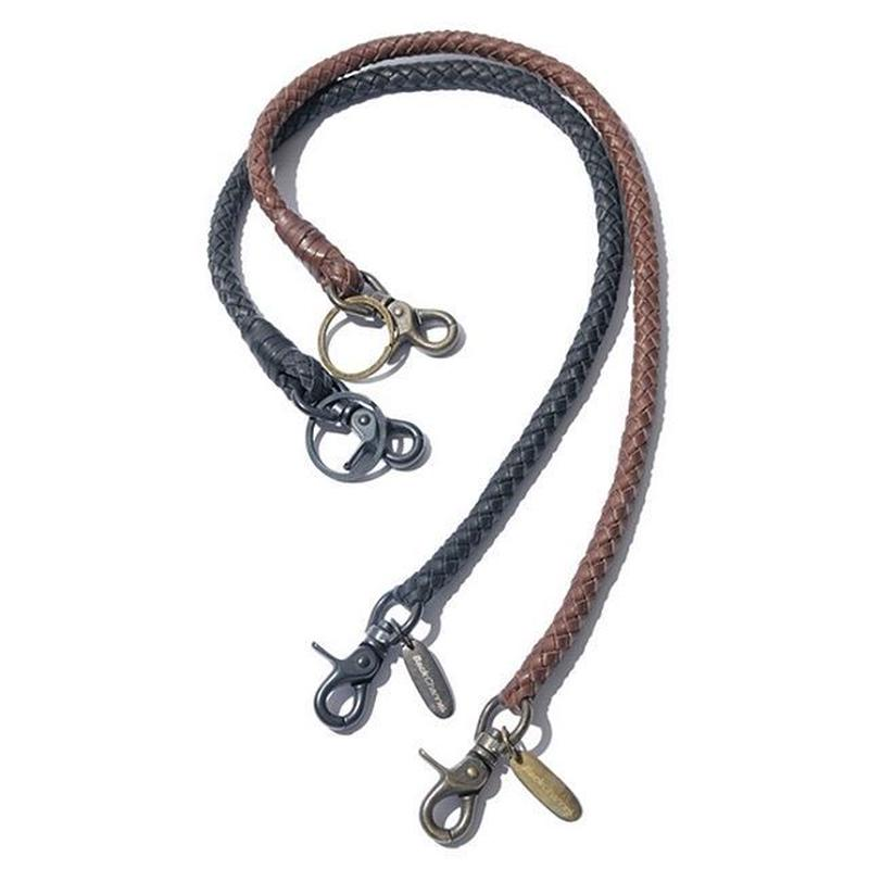 BackChannel-LEATHER WALLET CHAIN