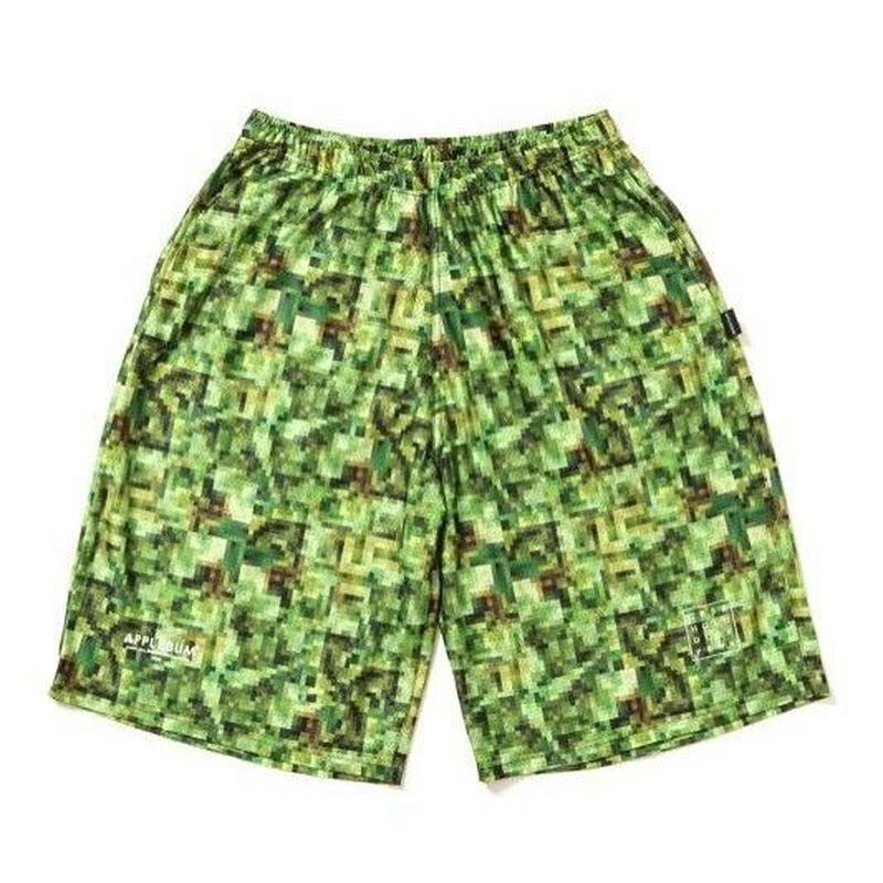 APPLEBUM Pixel Basketball Mesh Short Pants