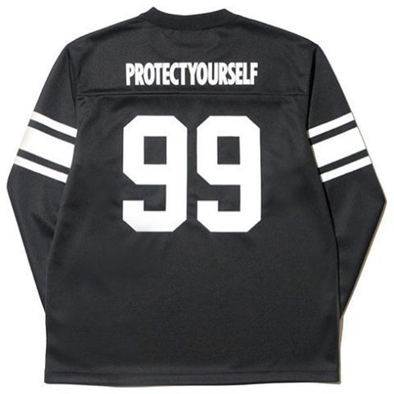 BackChannel-FOOTBALL MESH LONG SLEEVE T