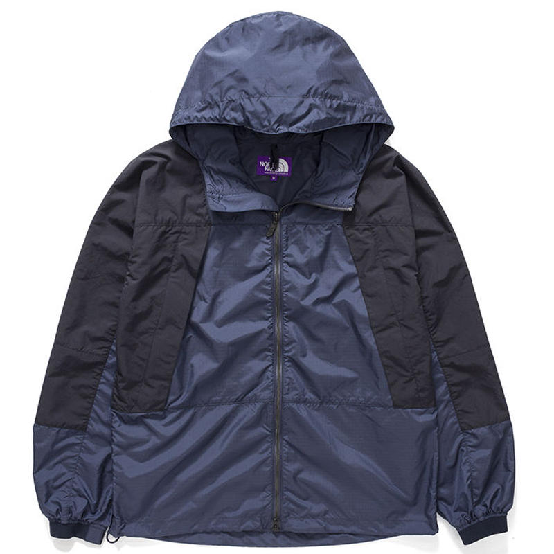 THE NORTH FACE PUPLE LABEL Mountain Wind Parka