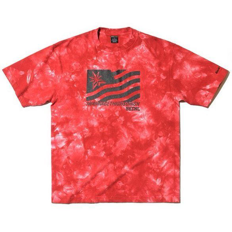 BackChannel-FLAG TIE DYE T